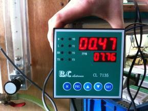 雄华余氯在线检测仪XHCL-7135