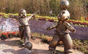 重庆玻璃钢人物雕塑