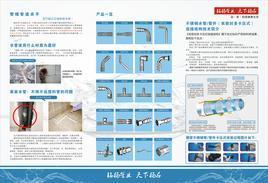 家装薄壁不锈钢水管 双密封多卡压式连接