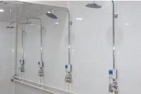 学校IC卡澡堂刷卡节水控制器公寓热水刷卡智能节水器