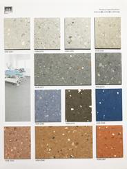 广东同质透心塑胶地板|海德堡HDB-2382胶地板