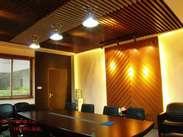 优质生态木装饰板,生态木长城板,格栅天花