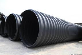 pe排水管厂家,钢带增强聚乙烯螺旋波纹管专家