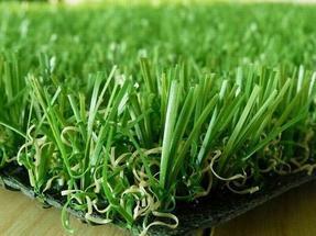 屋顶花园人造草坪铺装
