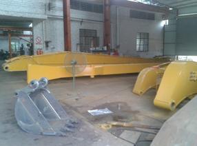 安徽小松pc350挖掘机加长臂制造厂家