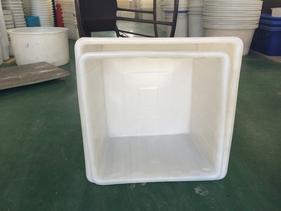 厂家直销500L塑胶方箱大型印染周转推布车桶过滤水箱推布落布车
