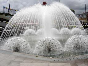湖南长沙喷泉厂家提供程控喷泉、小喷泉