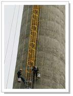 烟囱爬梯防腐工程