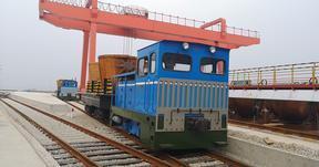 工程厂区轨道柴油液力牵引机车