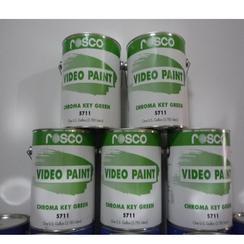 虚拟演播室抠像漆5710/5711蓝绿色标清漆