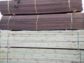 大量批发石家庄桑拿板、正定桑拿板、防腐木、碳化木