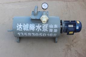 达诚降水泵 真空降水泵 基坑降水雷火app 井点降水泵 轻型井点降水