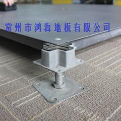 供应鸿豪OA全钢网络高架地板 办公室写字楼架空地板