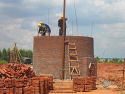 太原烟囱建筑公司-砖烟囱新建-砌烟囱