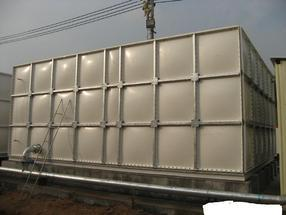 专业制作(高品质)玻璃钢水箱模压水箱SMC水箱消防水箱欢迎来电咨询