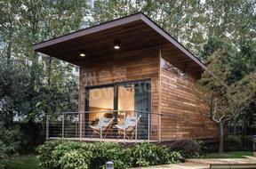 预制智能精装木结构别墅