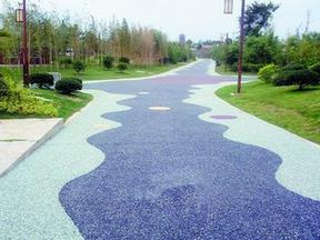透水地坪-园林景观道路施工
