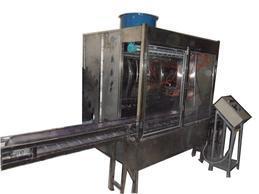 工艺品小型喷漆水帘柜,小型自动喷漆机八长生产家