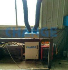 山东烟台车间除尘设备焊烟净化器车间污染治理环保设备定制