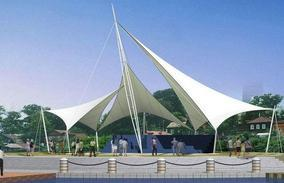 山东河南山西景观小品张拉膜结构