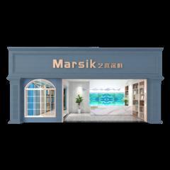 美国Marsik马思克艺术涂料招商加盟 (水尼墙上施工)