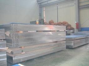 AL5083防锈铝板 日本进口5052镜面铝板