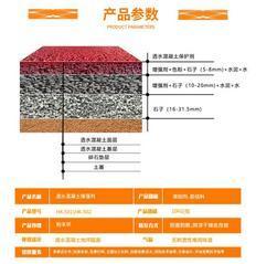 泸州市供应透水混凝土 透水地坪 压印地膜 现货不缺 物美价廉