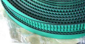 PU同步带,同步带加绿布,TK20同步带加绿布