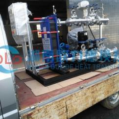 欧力德无人值守全自动高效节能板式换热器机组