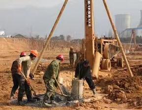 上海地铁降水基坑打井降水上海打检测井公司打降水井上海打空调井打深井
