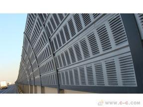金属声屏障-隔音板网-消声降噪网-提供各种声屏障