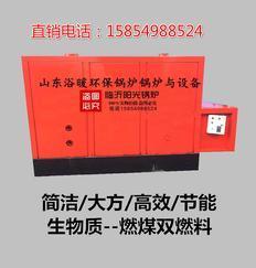山东省金典炉业燃气燃油锅炉 包装柜子大气档次锅炉 生物质锅炉