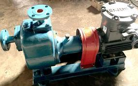 自贡CYZ型自吸式离心油泵,有自吸能力,性能稳定可靠