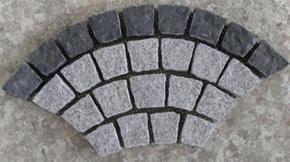花岗岩扇形地坪铺装 HZM103