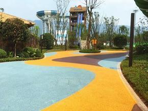 六盘水市压花地坪;压印地坪;压摸地坪;透水地坪;彩色透水混凝土