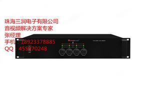 纯后级D类4通道专业广播功放 功率放大器