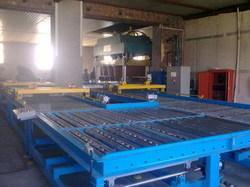 A级不燃外保温板材自动化生产线
