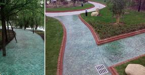 吉林市政园林景观透水路面材料