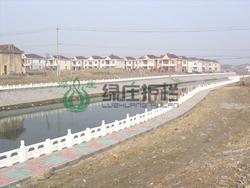 仿石护栏,仿汉白玉护栏,水利工程,大坝护栏,河堤护栏,流域整治