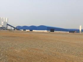 钢结构大棚工程煤矿钢铁厂煤场堆料场棚北京施工公司安装焊接厂家