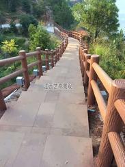 湖南仿木栏杆,湖南水泥仿木栏杆厂家施工流程