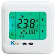 触摸屏采暖温控器,液晶地暖温控器,可编程地暖温控器,地热膜温控器