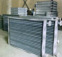 供应不锈钢散热器、蒸汽导热油套管换热器