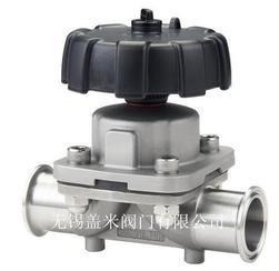 卫生级隔膜阀 卡式手动隔膜阀 316L卫生级快装隔膜阀