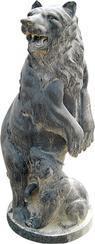 仿古大理石狗雕刻MGB359A