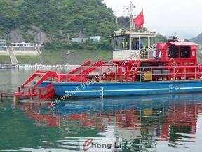 Z型液压全回转驱动垃圾清洁船