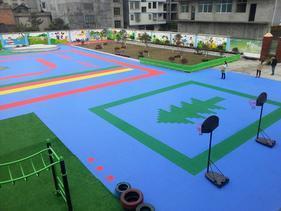 天津悬浮地板安装-环保/材料厂家|幼儿园塑胶地板