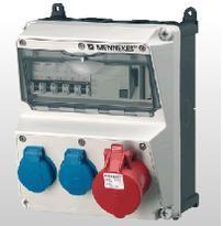 曼奈柯斯一级授权代理防水航空插头插座 检修箱