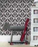 花卉墙纸与现代家具的巧妙搭配墙纸厂家