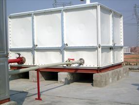佳木斯玻璃钢成品水箱